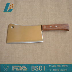 """Stainless steel Kitchen chopping knife with wooden handle 6"""""""