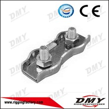 DMY cold galvanizing Duplex and Simplex Wire Rope Clips direct sailing from factory