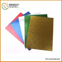 colorful embossed paper used in folder file envelope