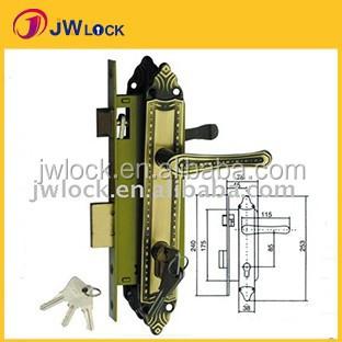 6008 cheap ZANI cylinder Door Lock set