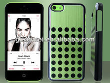 Mobile rubber back skin for Apple iPhone 5C, flip cover bumper For Iphone 5C