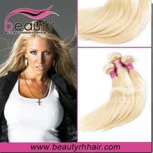 Wholesale virgin blonde hair unprocesse malaysian weaving hair