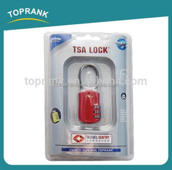 TOPRANK combination tsa lock luggage, approved TSA digital combination lock, tsa luggage lock combination