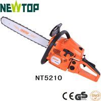 Gasoline Chainsaw 5200 / 52cc petrol chain saw / cylinder piston chainsaw
