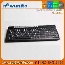 New original 2.4g wireless multimedia china smart card keyboard