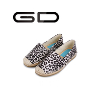 Women fisherman flats leopard ladies sexy flat shoes ladies sexy comfortable shoes