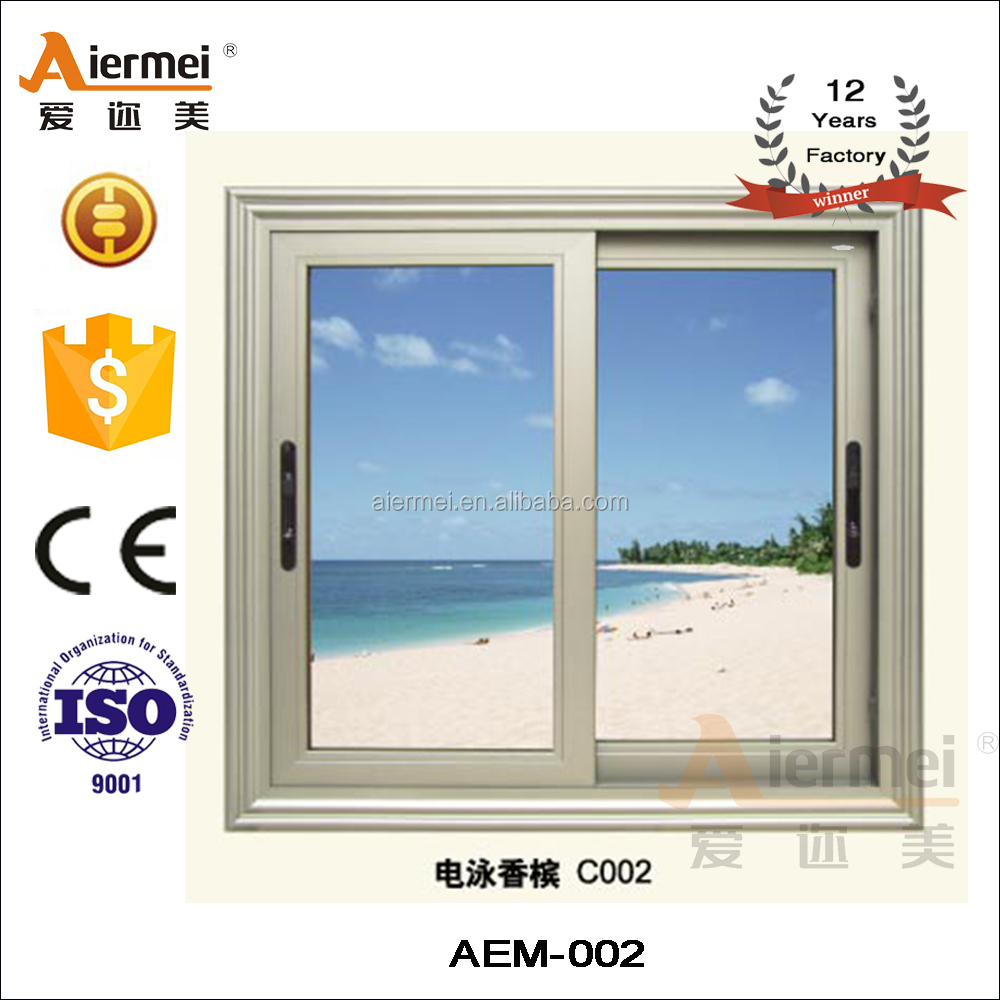 Wholesale aluminum window louver of champagne color for Wholesale windows