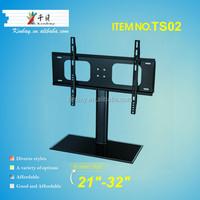 "Guangzhou 21""-32"" glass tv stand led lcd tv rack USA tv unit"