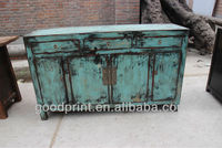 Residential Furniture Shabby Chic Vintage Sideboard Cabinet Console Table