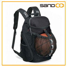 2015 China factory customized basketball backpack, Leisure backpack basketball