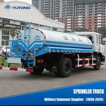 132kw manual water sprinkler vehicle