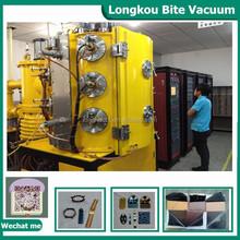 Ceramic PVD metallizing machine, golden ceramic potteries vacuum coating equipment
