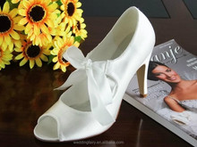 FACTORY WHOLESALE PRICES!!white bridal shoes china
