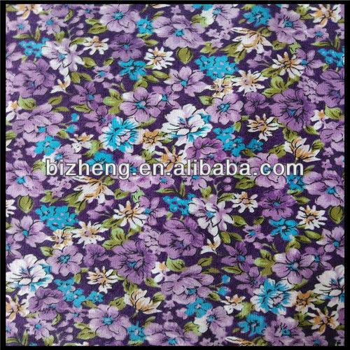 100% impreso de algodón popelín para venta al por mayor de prendas de vestir de tela spplier china hizo china i