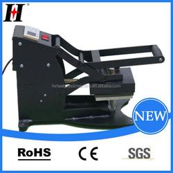 CE QX-A9 Manually Hot mark machine best label small pneumatic press machine print t-shirt machinegital leather printing machie