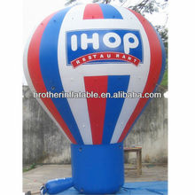 Advertising inflatable cold air balloons