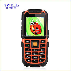 Outdoor high quality cheap cell phones ip67 waterproof dustproof shockproof feature mobile cell rugged phone S6