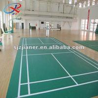 Vinyl Badminton Sports Court Floor
