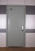 steel fireproof door for house with door closer