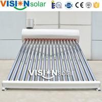 Vacuum Tube Non-pressure China Solar Stock Tank Heater
