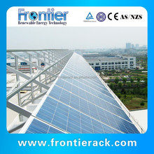 Flat roof solar mounting system,support solar panel ,aluminum solar panel structured