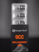 100% ORIGINAL Kanger SOCC Coil occ(Organic Cotton Coil) for subtank +1.5ohm 1.8ohm 2.2ohm