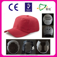 Impact-resistant baseball style bump cap with helmet cap shell