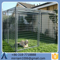 50*100, 70*100, 70*150, 80*100mm Welded Dog Cage and 60*60, 70*70, 80*80mm Chain Link Dog Cage