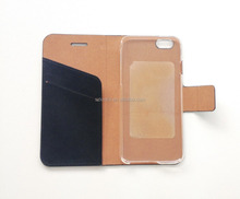 Typical Solid Good PU Leather Mobile Phone Flip Case for iPhone 6