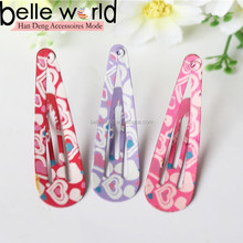new trend heart design 4.5 cm fashion snap clips