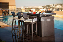 2014 new design outdoor rattan outdoor modern furniture garden
