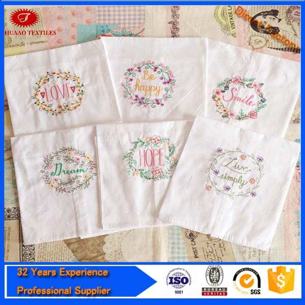 Wholesale Custom Linen Tea Towel / Kitchen Towel With Ce