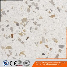 Best price anti compression terrazzo flooring tile from chuanyue