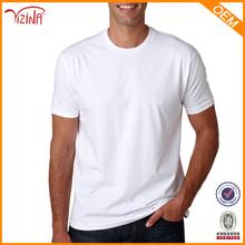 China Supplier 95% Cotton 5% Spandex Plain White T-shirts With Man Custom Tshirt/Bulk Blank T-shirts