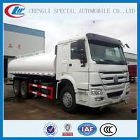 Professional Sinotruk HOWO all wheel drive Water truck 6x6 Spraywing Water sorinkling Tank truck for sale