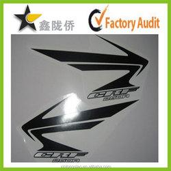 Fashion vinyl sticker design for motorcycle , 3D motorcycle sticker , motorcycle decal stickers