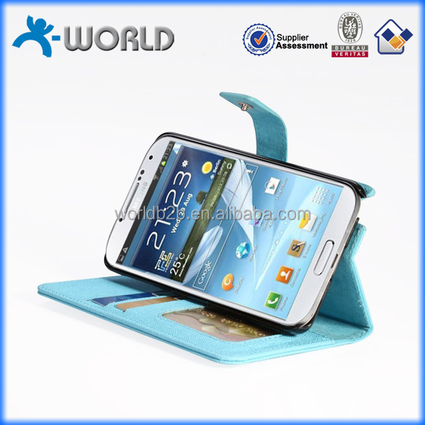 Alibaba recommend factory price soft pu stand book leather case for samsung note 3 N9000