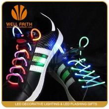 Gift idea 2015 Luminous Shoelaces ,New products 2015 Waterproof TPU LED Shoelaces