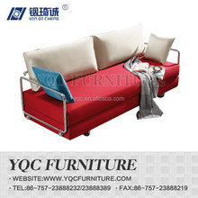 Y6102# hot sale Chinese style high quality moving back fabric sofa bed