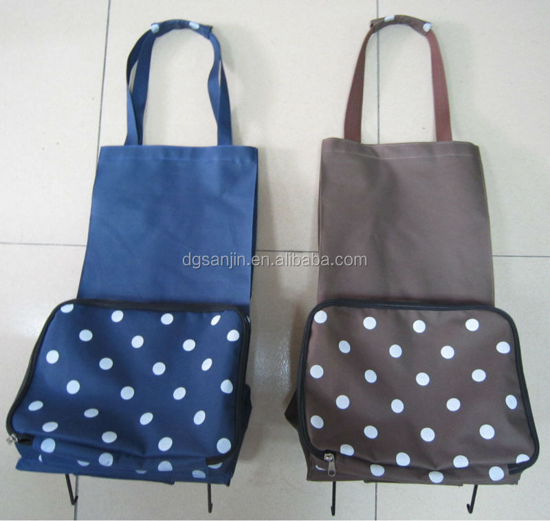 2015 Durable hot sale nylon foldable shopping bag professional Factory Supply Polyester Foldable Shopping Bag