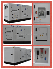 Original Cumminss silent power generator 150kva super silent type imported in USA