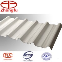 Construction roofs, trapezoid roofs, roofing sheet