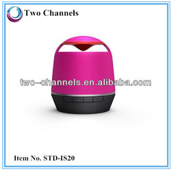 2013 new products China factory bluetooth audio speaker ,Hands Free , TF card slot, FM +AuX in