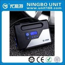 Mini tire inflator with digital gauge setup YD-303G