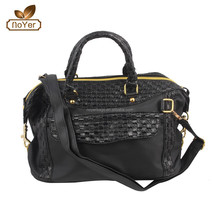 Lady handbags fashion bags with ebossed plaid effect shoulder bags Cross-body bags