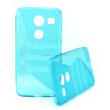 Factory Price S Style Design Soft TPU Mobile Phone Cover For Motorola Nexus 5 2015