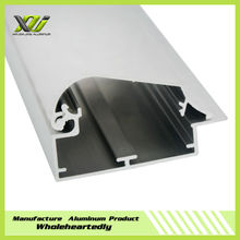 Slim light box led extruded aluminum housing