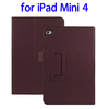 Factory Price 2 Folding Flip Leather for iPad Mini 4 Case