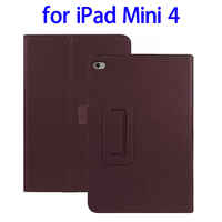 Factory Price 2 Folding Flip Leather for iPad Mini 4 Case