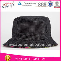 Simple fashion men designer polo cotton plain bucket hat wholesale
